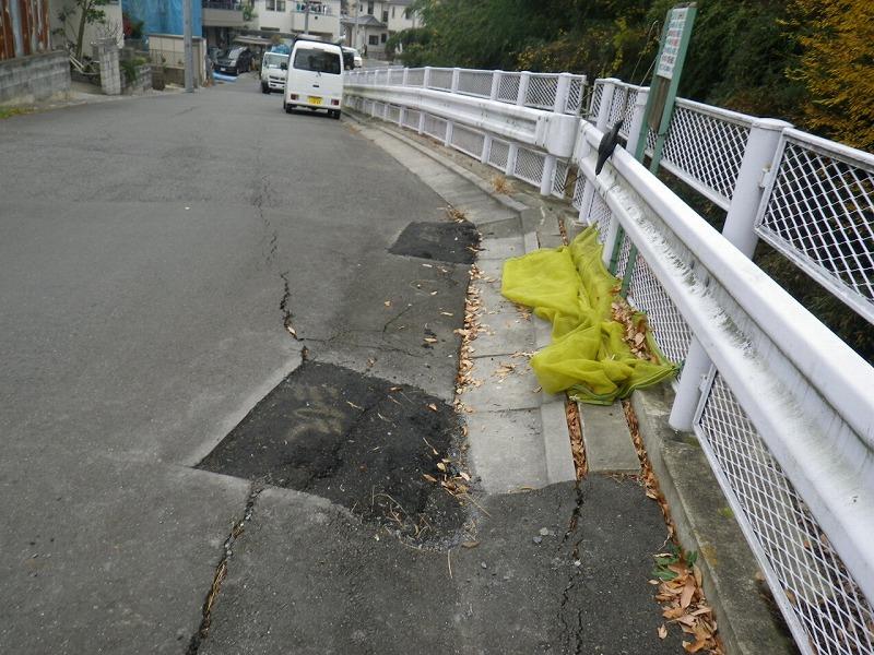 区画街路6-21号路線街路改修工事